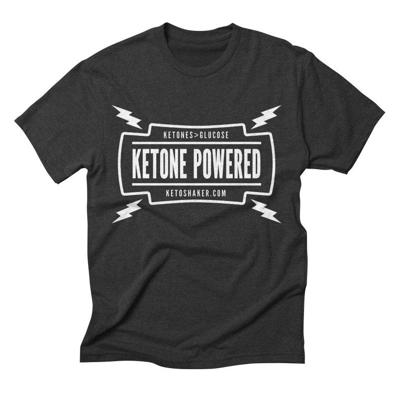 Ketone Powered Too Men's Triblend T-shirt by Jac=Jake