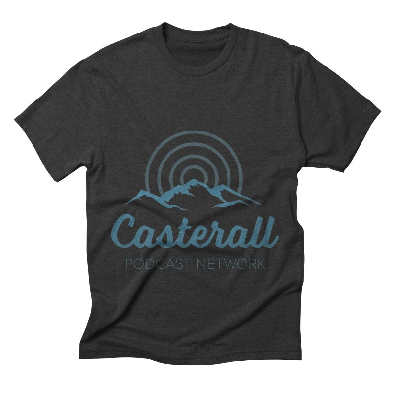 Listen in on the Casterall Podcast Network Men's Triblend T-Shirt by Jac=Jake
