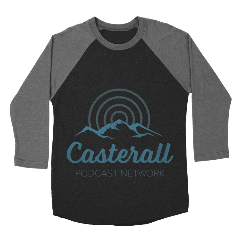 Listen in on the Casterall Podcast Network Women's Baseball Triblend T-Shirt by Jac=Jake