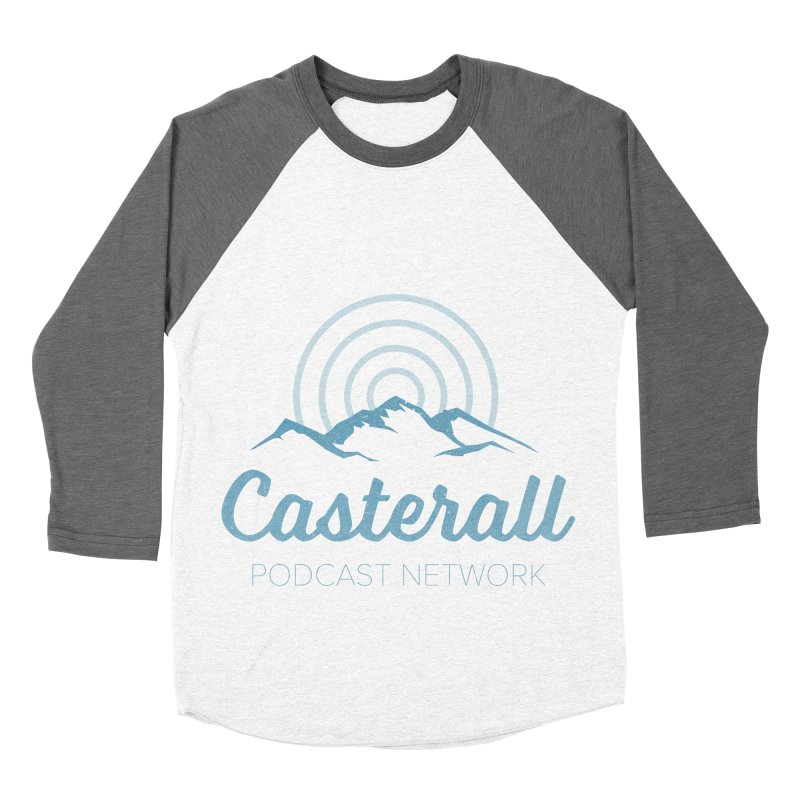 Listen in on the Casterall Podcast Network Men's Baseball Triblend T-Shirt by Jac=Jake