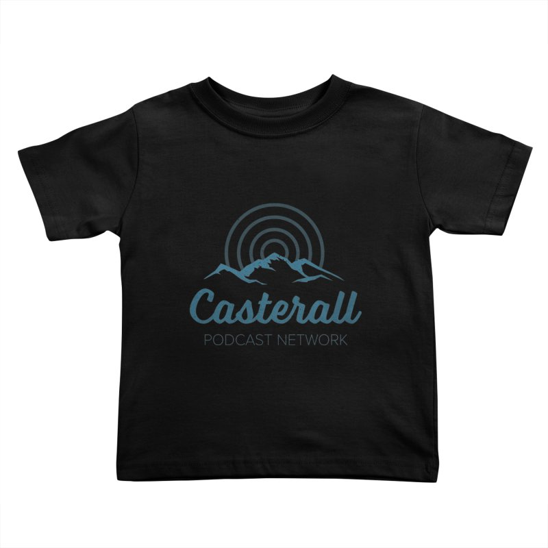 Listen in on the Casterall Podcast Network Kids Toddler T-Shirt by Jac=Jake