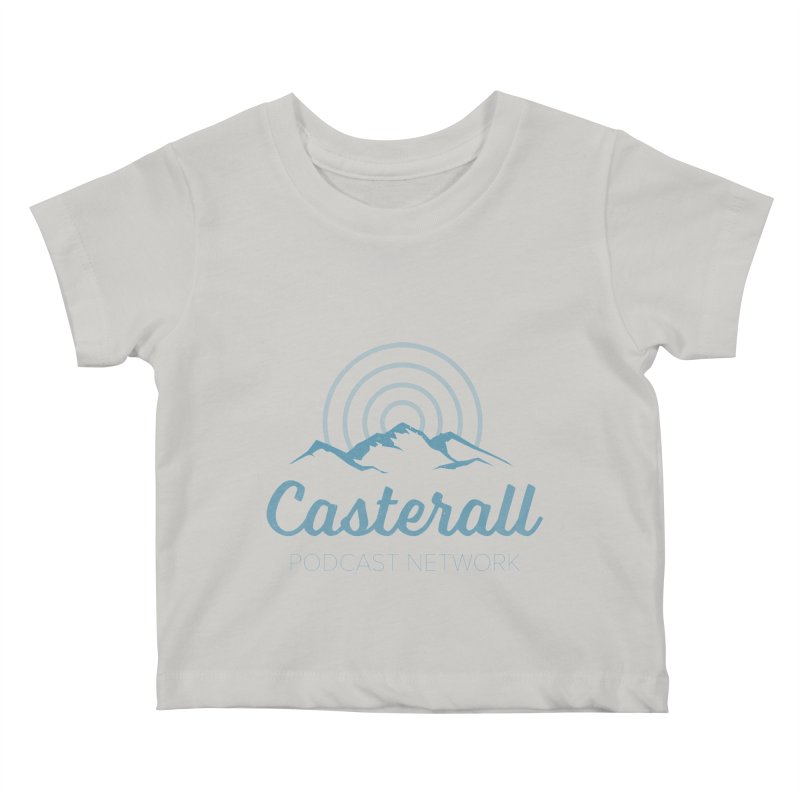 Listen in on the Casterall Podcast Network Kids Baby T-Shirt by Jac=Jake