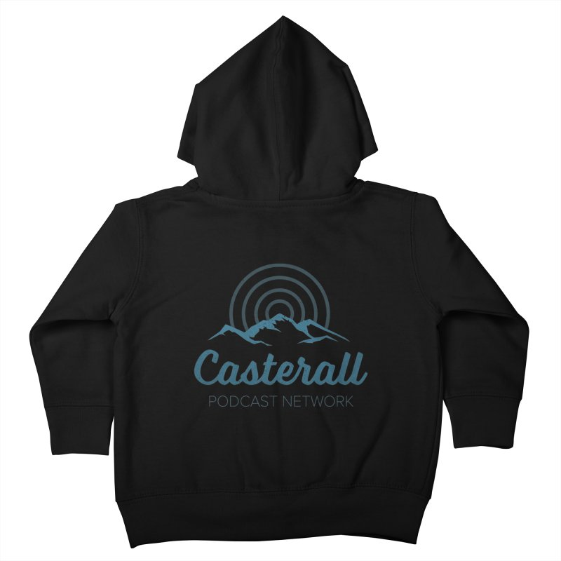 Listen in on the Casterall Podcast Network Kids Toddler Zip-Up Hoody by Jac=Jake