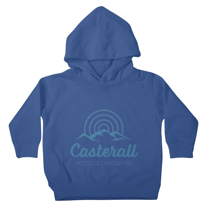 Listen in on the Casterall Podcast Network Kids Toddler Pullover Hoody by Jac=Jake