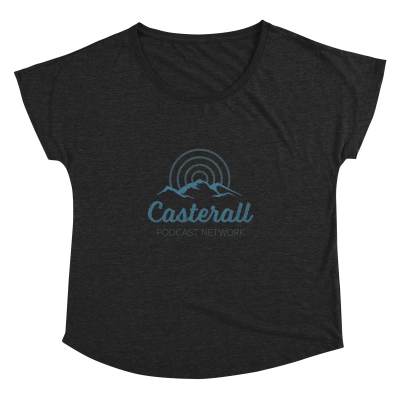 Listen in on the Casterall Podcast Network Women's Dolman by Jac=Jake