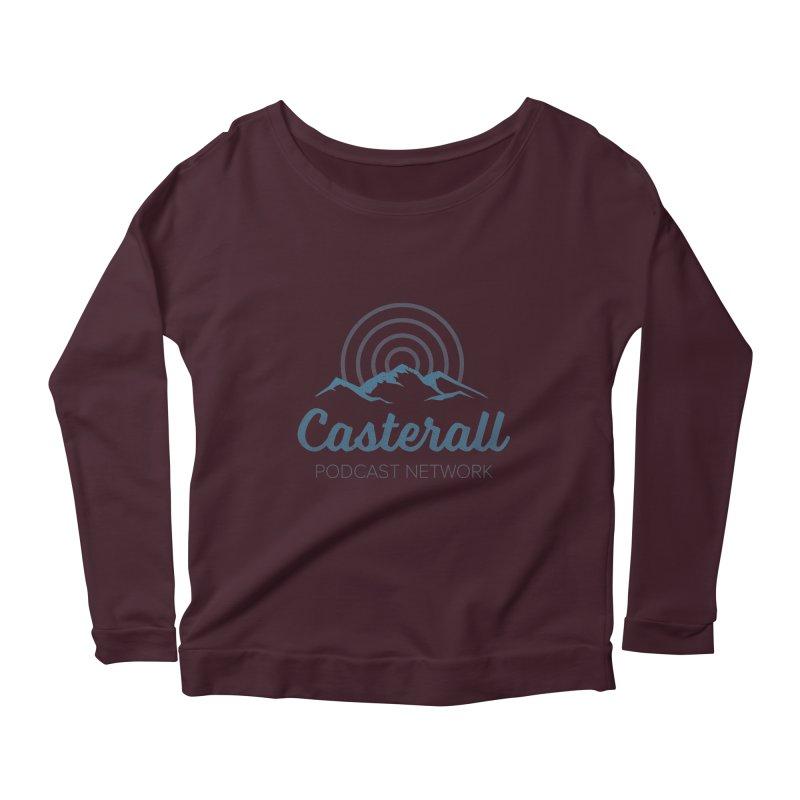Listen in on the Casterall Podcast Network Women's Longsleeve Scoopneck  by Jac=Jake