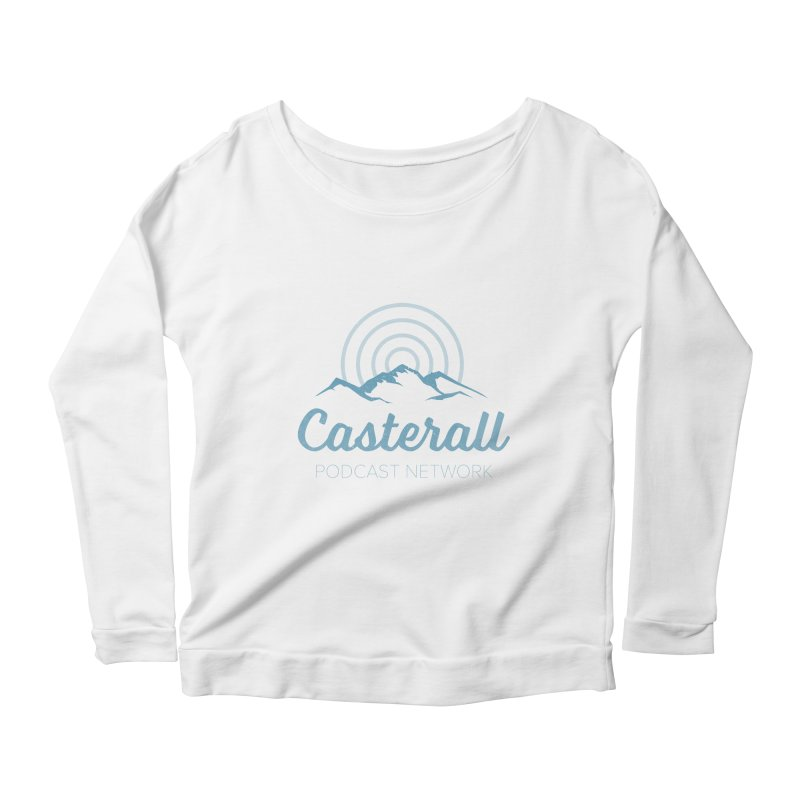 Listen in on the Casterall Podcast Network Women's Longsleeve Scoopneck  by Jac=Jake