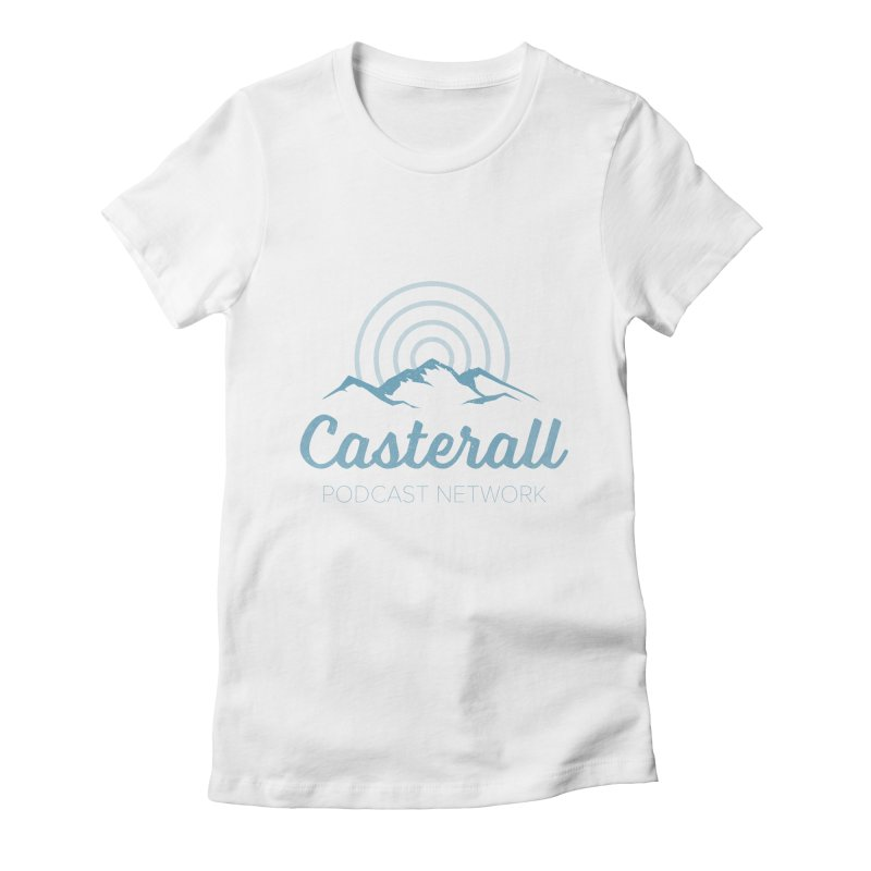 Listen in on the Casterall Podcast Network Women's Fitted T-Shirt by Jac=Jake