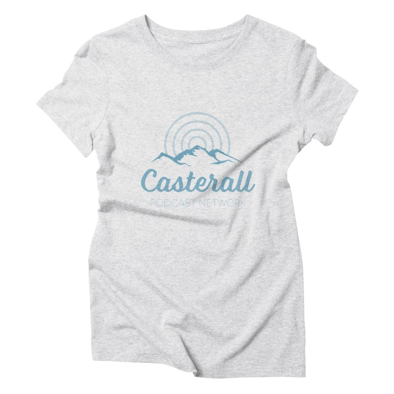 Listen in on the Casterall Podcast Network Women's Triblend T-Shirt by Jac=Jake