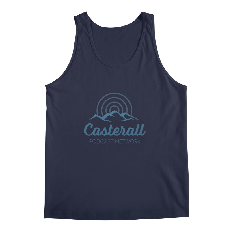 Listen in on the Casterall Podcast Network Men's Tank by Jac=Jake