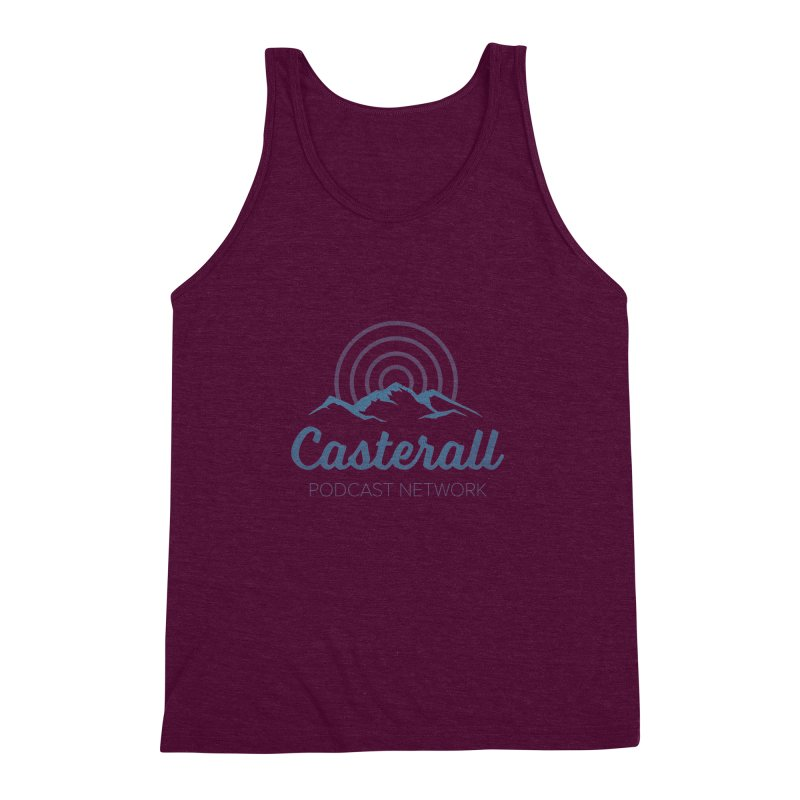 Listen in on the Casterall Podcast Network Men's Triblend Tank by Jac=Jake