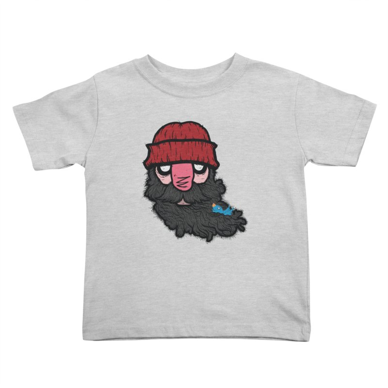 Bearded Jack Kids Toddler T-Shirt by Jac=Jake