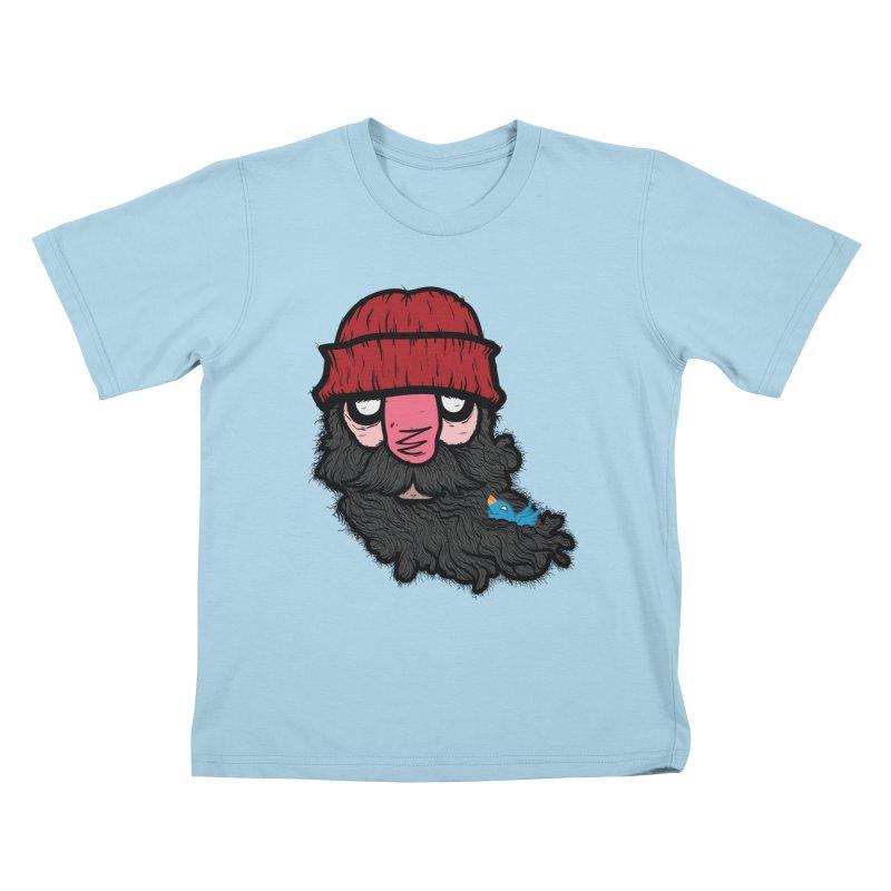 Bearded Jack Kids T-shirt by Jac=Jake