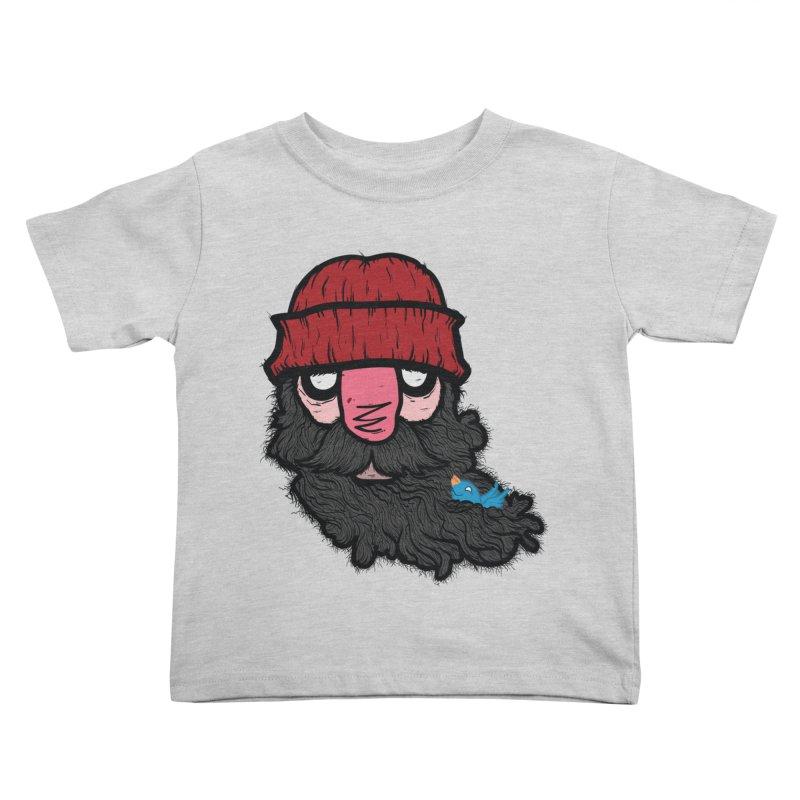 Bearded Jack Kids Toddler T-Shirt by Jac=Jake