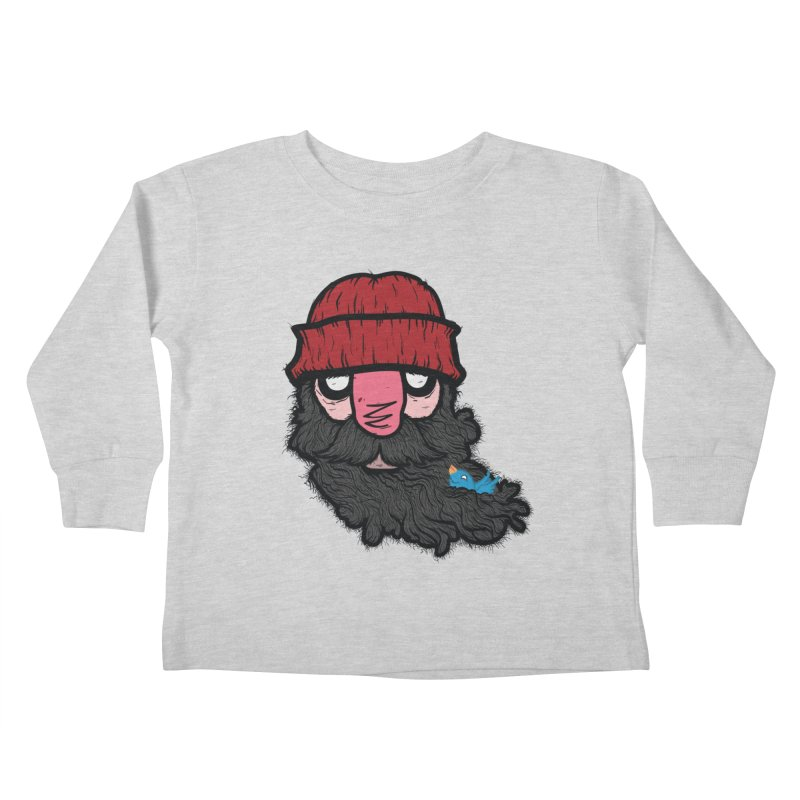 Bearded Jack Kids Toddler Longsleeve T-Shirt by Jac=Jake
