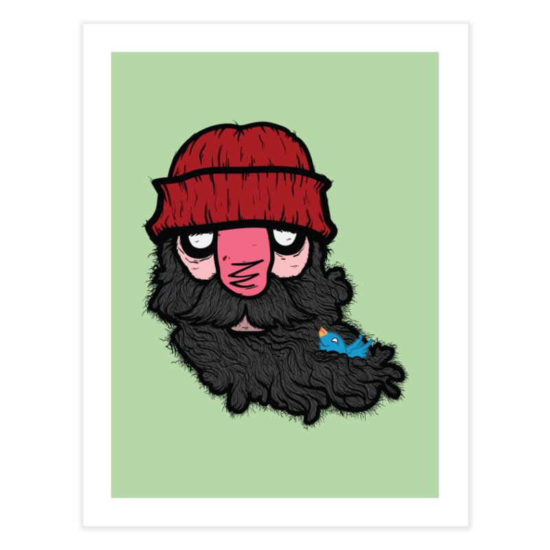 Bearded Jack Home Fine Art Print by Jac=Jake