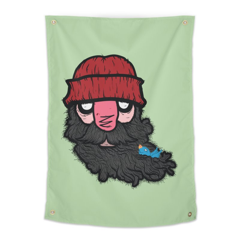 Bearded Jack Home Tapestry by Jac=Jake
