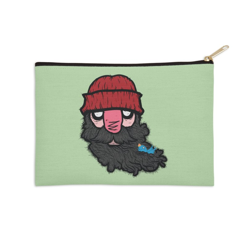 Bearded Jack Accessories Zip Pouch by Jac=Jake