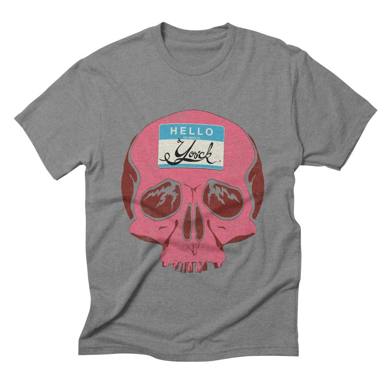 Hello Yorick! Men's Triblend T-shirt by Jac=Jake