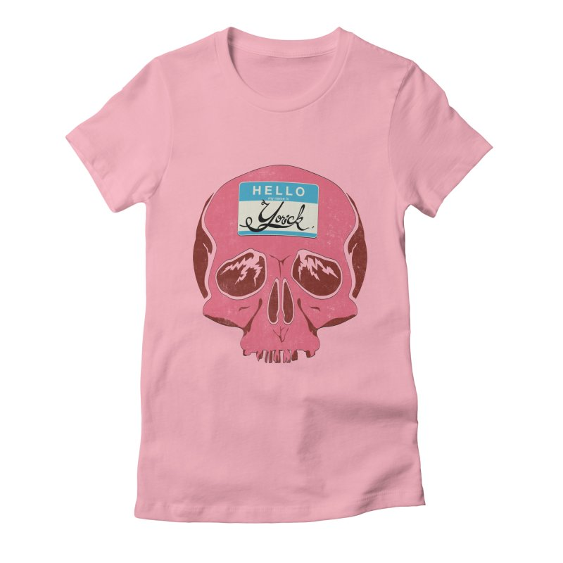 Hello Yorick! Women's Fitted T-Shirt by Jac=Jake
