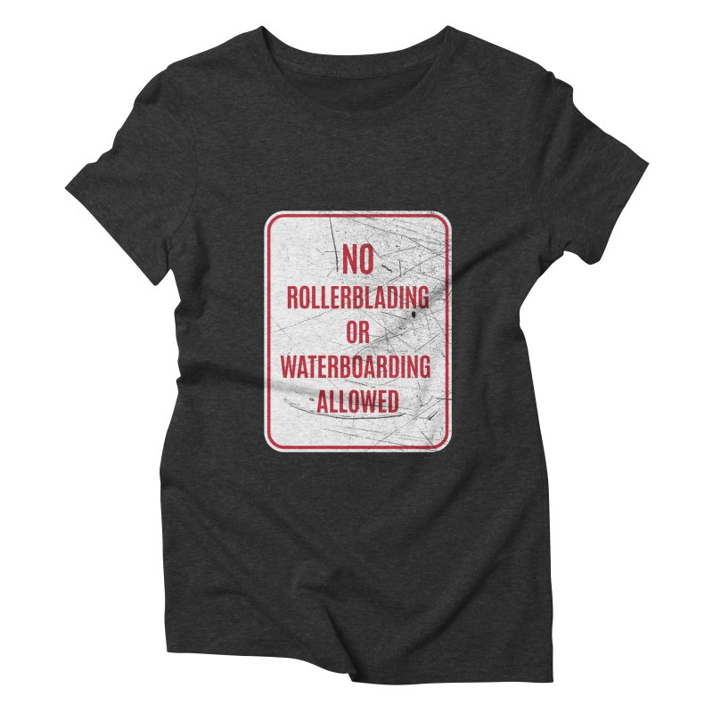 Sins of our past Women's Triblend T-shirt by Jac=Jake