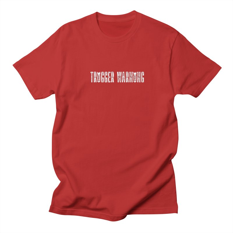 Trigger Warning: A friendly PSA Men's T-shirt by Jac=Jake
