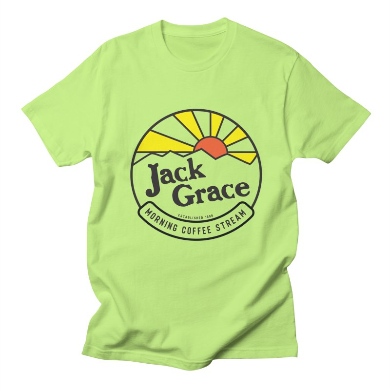 Official Jack Grace Morning Coffee Stream- Mugs, T-Shirts, Magnets and More! Men's T-Shirt by JackGrace 's Artist Shop
