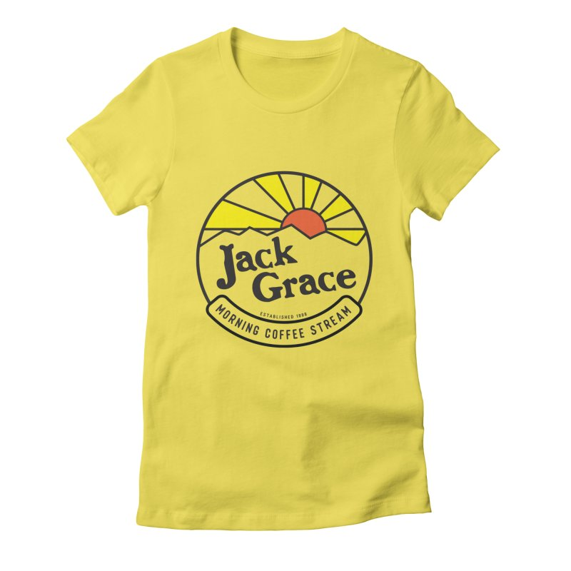 Official Jack Grace Morning Coffee Stream- Mugs, T-Shirts, Magnets and More! Women's T-Shirt by JackGrace 's Artist Shop