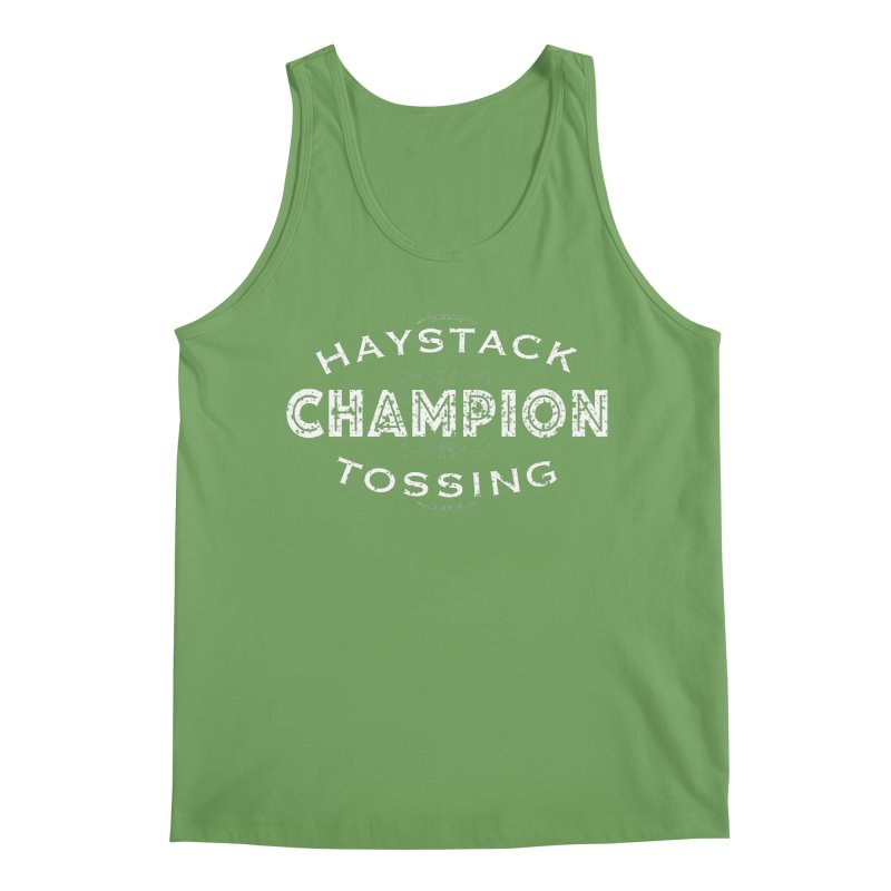 HAYSTACK TOSSING CHAMPION Men's Tank by JNH-MERCH!