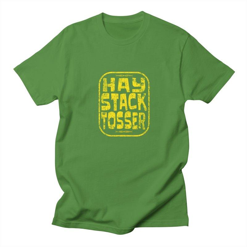 HAY STACK TOSSER in Men's Regular T-Shirt Clover by JNH-MERCH!
