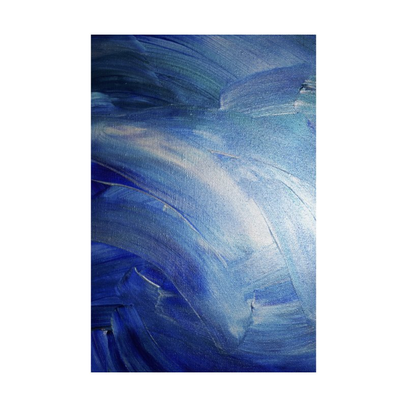 Blue Shimmer by Janet Gervers Art Shop