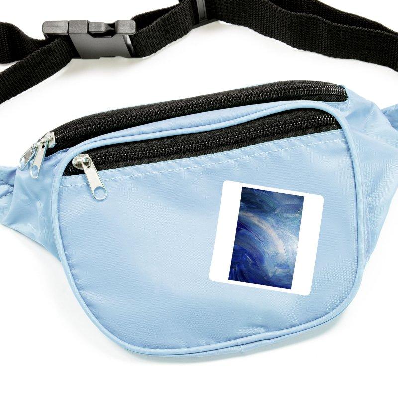 Blue Shimmer Accessories Sticker by Janet Gervers Art Shop