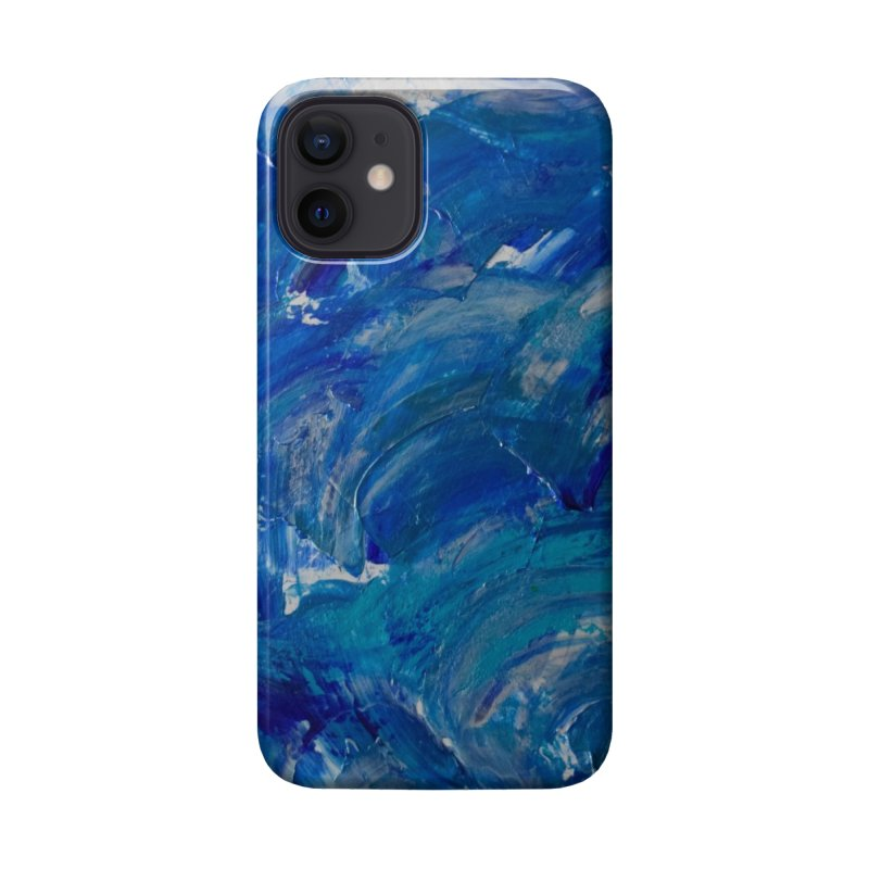 Shimmering Waves Accessories Phone Case by Janet Gervers Art Shop