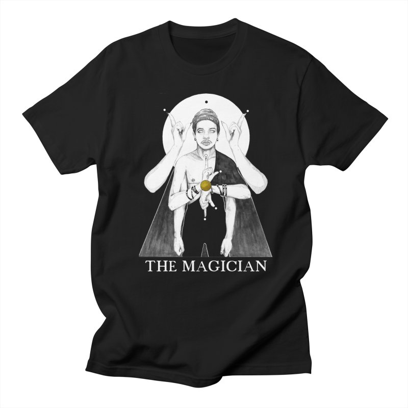 The Magician Men's T-Shirt by The Ink Maiden
