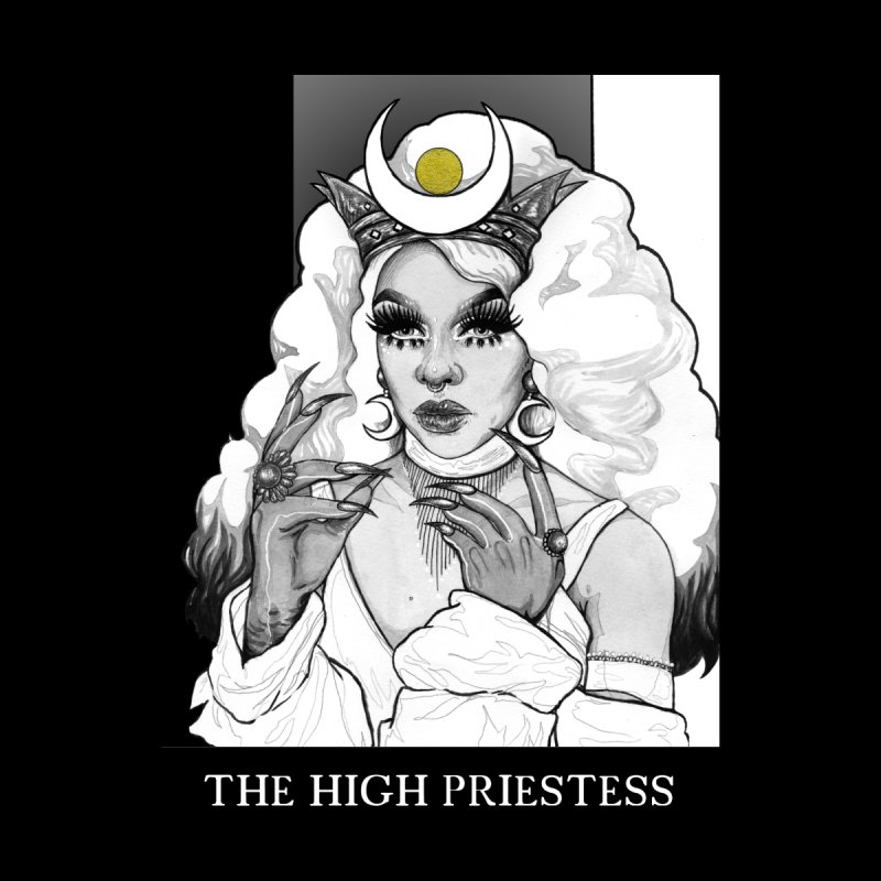 The High Priestess by The Ink Maiden