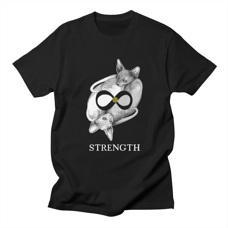 Strength Men's T-Shirt by The Ink Maiden