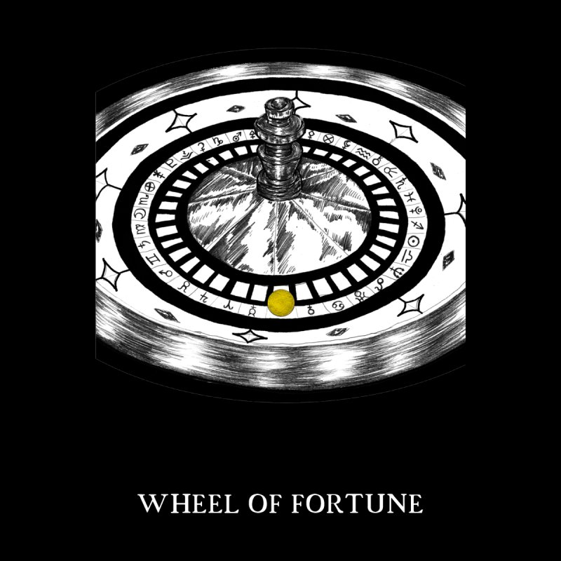 Wheel of Fortune Men's T-Shirt by The Ink Maiden
