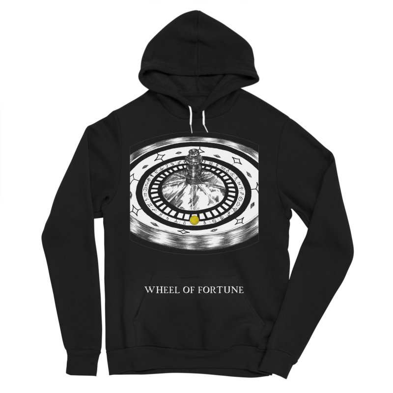 Wheel of Fortune Men's Sponge Fleece Pullover Hoody by The Ink Maiden
