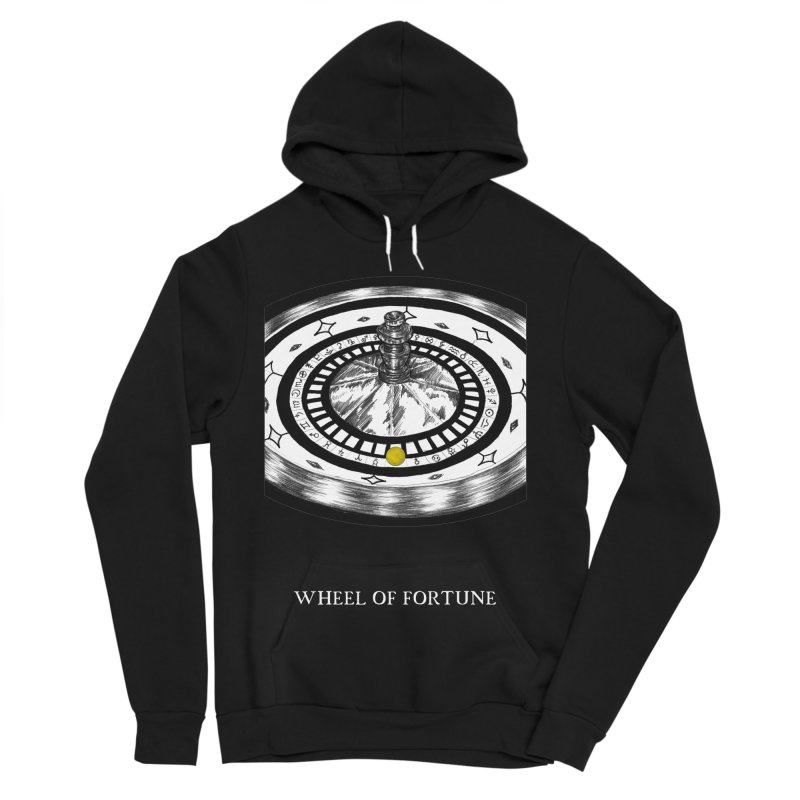 Wheel of Fortune Women's Sponge Fleece Pullover Hoody by The Ink Maiden