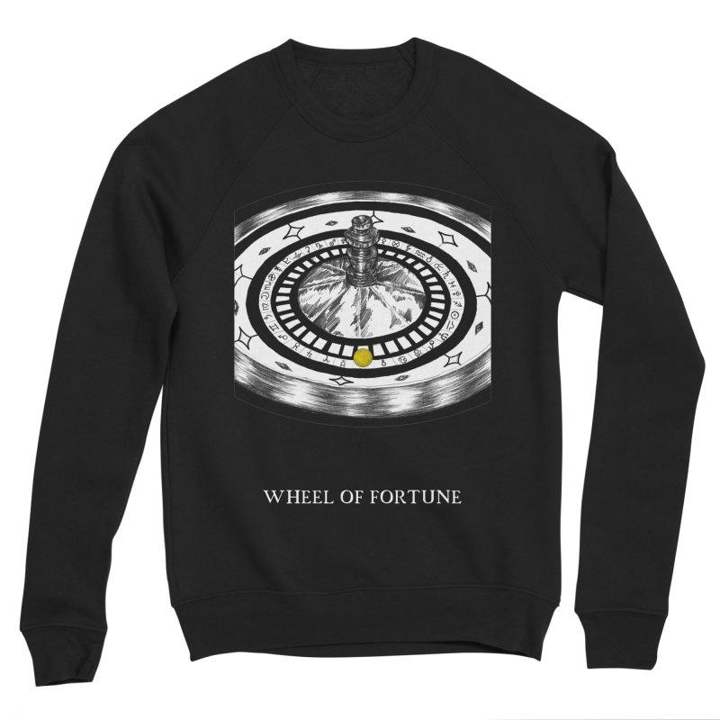 Wheel of Fortune Men's Sponge Fleece Sweatshirt by The Ink Maiden