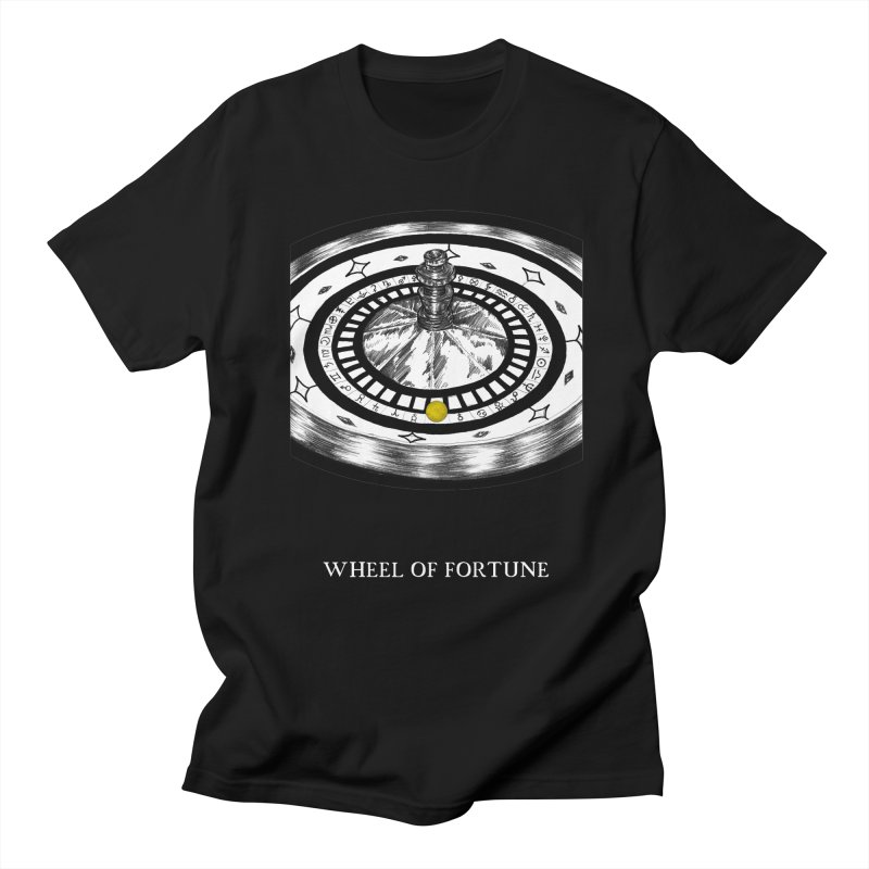 Wheel of Fortune Women's Regular Unisex T-Shirt by The Ink Maiden