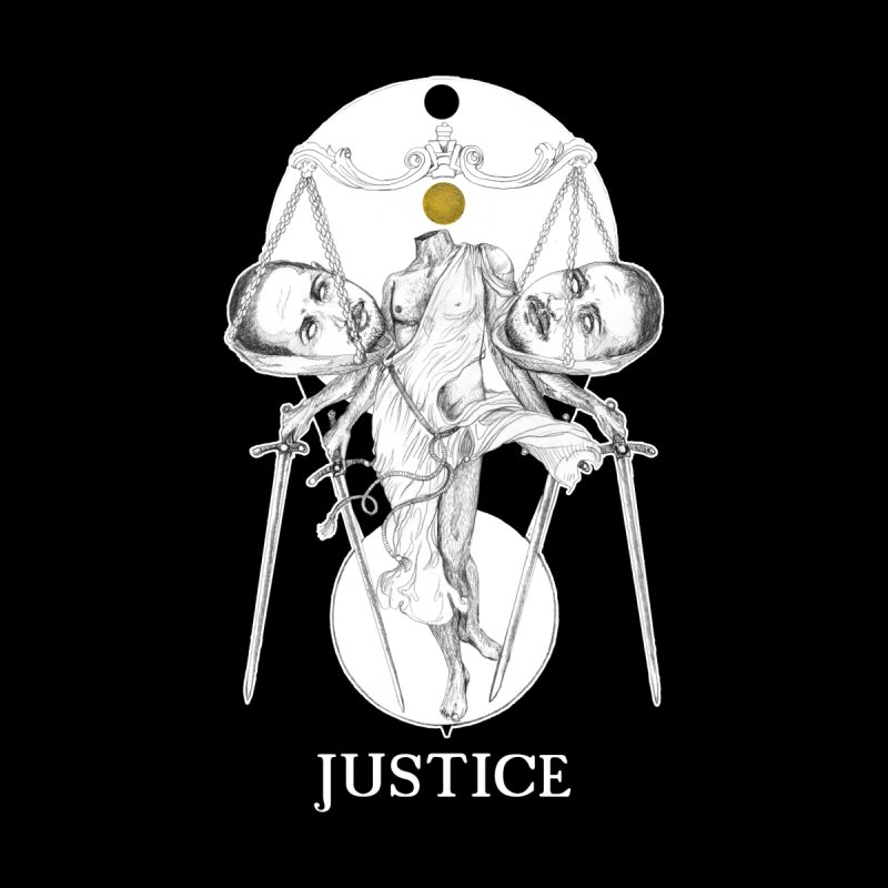Justice Men's T-Shirt by The Ink Maiden