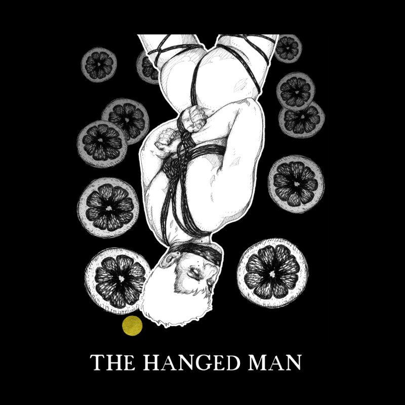 The Hanged Man Women's Zip-Up Hoody by The Ink Maiden