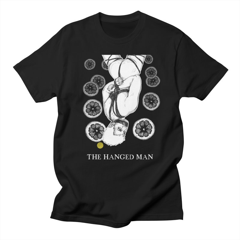 The Hanged Man Men's T-Shirt by The Ink Maiden