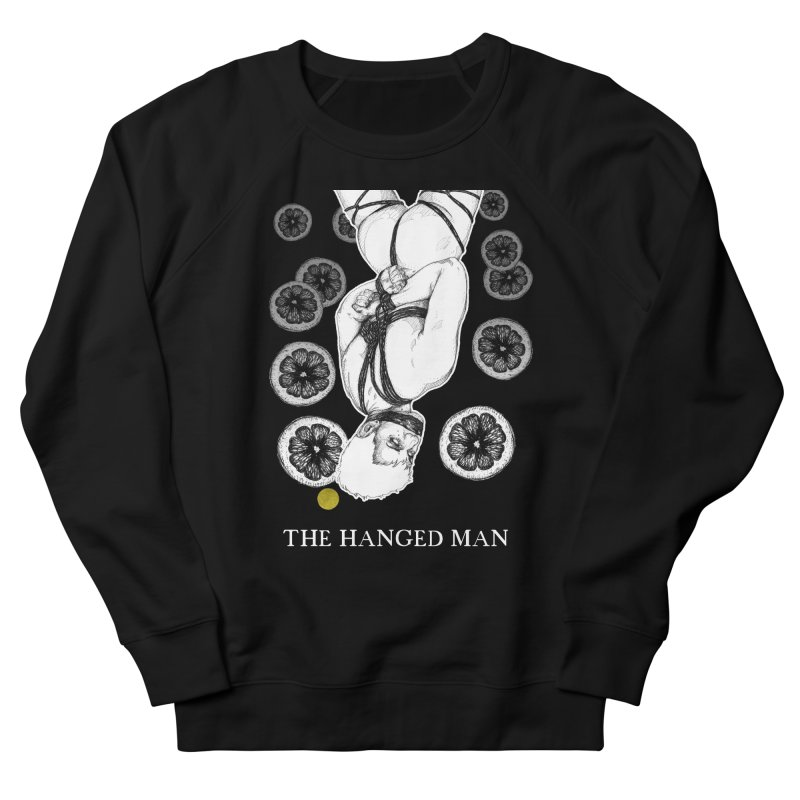 The Hanged Man Men's French Terry Sweatshirt by The Ink Maiden