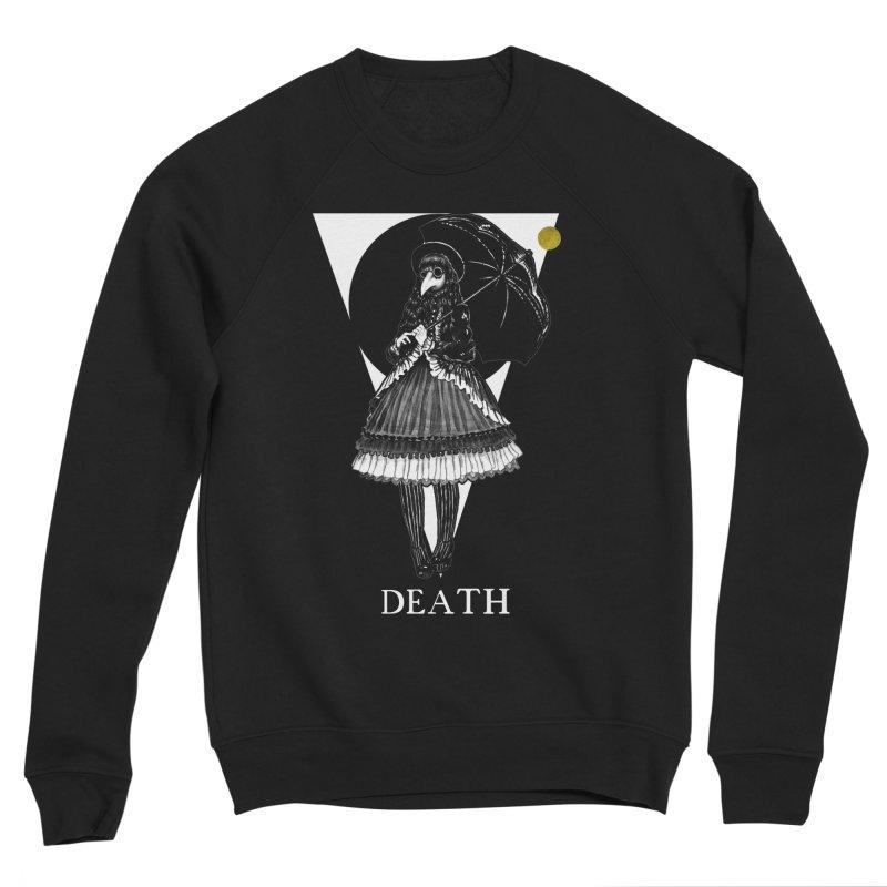 Death Men's Sponge Fleece Sweatshirt by The Ink Maiden