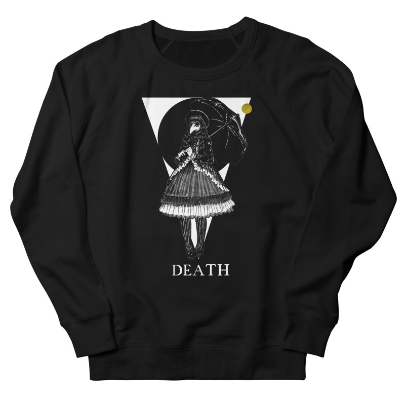Death Men's French Terry Sweatshirt by The Ink Maiden