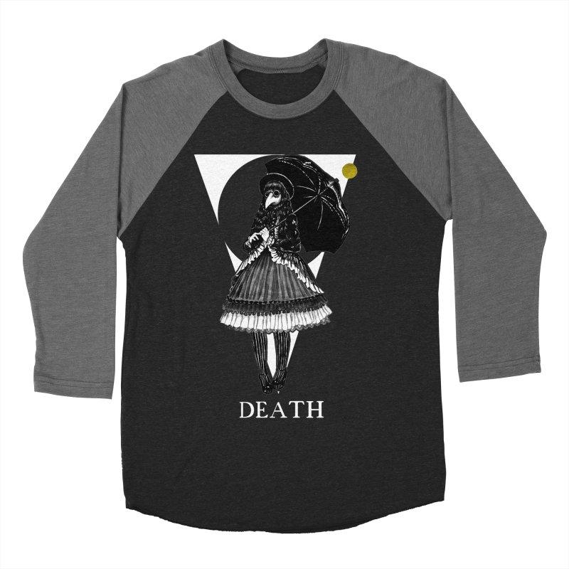 Death Women's Baseball Triblend Longsleeve T-Shirt by The Ink Maiden