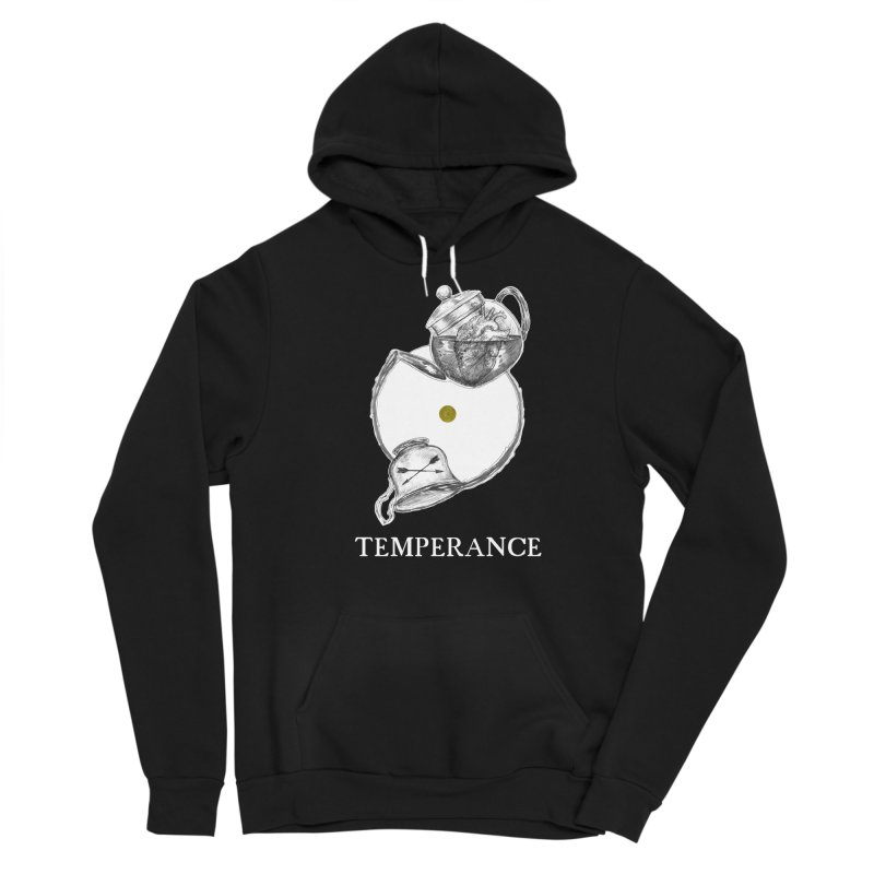 Temperance Men's Pullover Hoody by The Ink Maiden