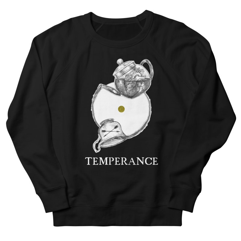 Temperance Men's French Terry Sweatshirt by The Ink Maiden